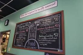 Local Urban Kitchen Menu We U0027re Fond Of This Montgomery Eatery That U0027s All About Local And
