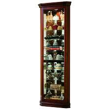 Kitchener Wine Cabinets Amazon Com Pulaski Corner Curio 27 By 16 By 80 Inch Brown