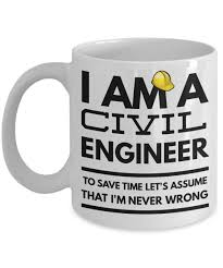 Funny Coffee Mugs by Civil Engineer Mug Funny Civil Engineer Coffee Mug Civil