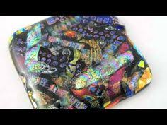 How To Make Fused Glass Jewelry - meagan chaney gumpert studio artist fusing glass in a ceramics