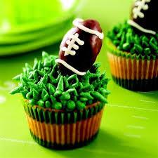 football cupcakes truffle football cupcakes