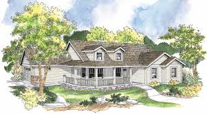 Nice House Plan With Wrap Around Porch 3 Country Plans Farmhouse