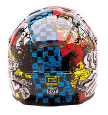 childrens motocross helmet oneal 3 series kids wild multi motocross helmet
