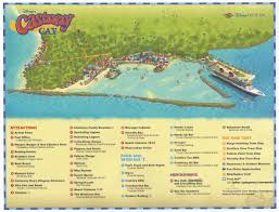 St Thomas Island Map Castaway Cay Information U2022 The Disney Cruise Line Blog