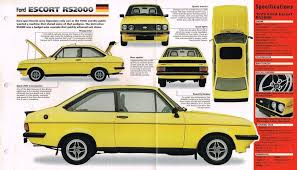 Mk2 Escort Rs2000 Interior 1979 Ford Escort Mk2 Rs2000 Custom Factory Black Memorabilia