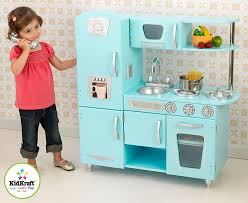 amazon com kidkraft vintage kitchen in blue toys u0026 games