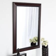 cherry bathroom mirror dark cherry bathroom mirror wayfair