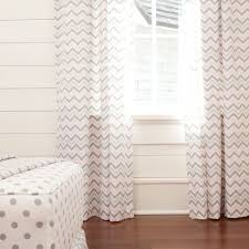 Yellow Curtains Nursery by Interior Design Grey And White Chevron Curtains Matched With