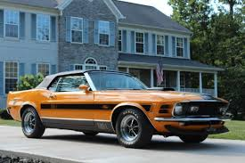 orange mustang convertible 1970 grabber orange ford mustang convertible mach 1 shelby