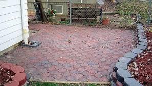 How To Lay Patio Bricks How To Install Interlocking Patio Bricks Garden Guides