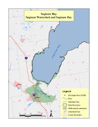 Saginaw Michigan Map by Priority Areas Healing Our Waters Coalition