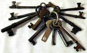 antique key necklace images Unlocking the riddle of skeleton key necklaces collectors weekly jpg