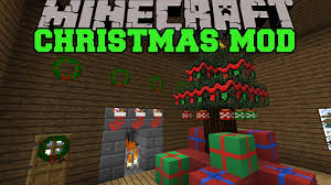 minecraft christmas mod santa gives you presents decorations