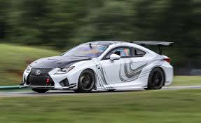 2016 lexus rc f review lexus rc f gt concept at lightning lap 2016 u2013 feature u2013 car and driver