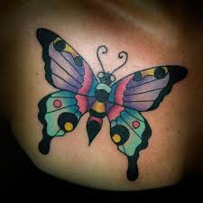 image result for traditional butterfly tattoos traditional