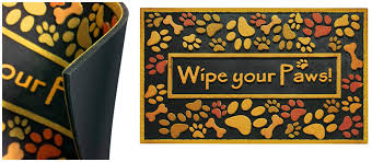 Welcome Mat Wipe Your Paws Amazon Wipe Your Paws Door Mat Just 17 59 Shipped Regularly