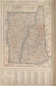 Map Of Vermont And New Hampshire Maps From The New Encyclopedia Atlas And Gazetter Perry