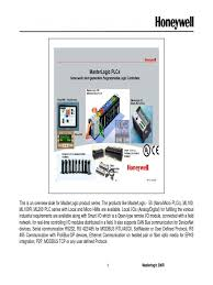 training manual ml200r programmable logic controller input output
