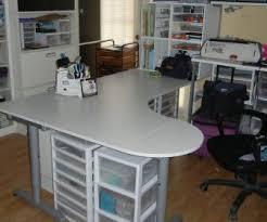 Corner Craft Desk Craft Storage Cabinet Tag Desk With Storage Cubes Craft Computer