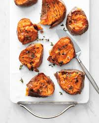 the bitten word smashed salt and vinegar sweet potatoes