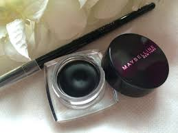 Maybelline Gel Eyeliner Review thecurvyprincess maybelline eye studio gel eyeliner in black