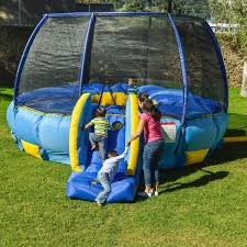 amazon com bouncepro superdome trampoline and bouncer inflated