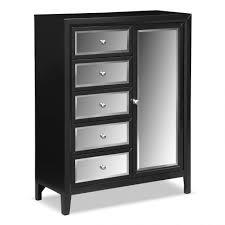 bedroom decor black white drawer tall chest bedding 5 drawer