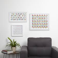 Wall Decorating Hive Geometric And Wave Wall Decor By Moe Takemura Wall Decor