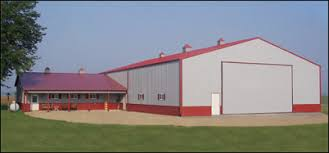 Steel Pole Barn Troy Built Buildings Custom Built Pole Barns And Metal Buildings