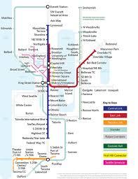 light rail map seattle seattle light rail map future roundtripticket me