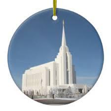 lds temple ornaments keepsake ornaments zazzle