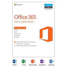 office 365 home 1 year subscription 5 pcsmacs product key card by