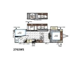 rockwood trailers floor plans 2018 forest river rockwood ultra lite 2702ws coburg or