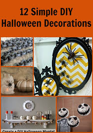 Halloween Diy Decorations by 40 Easy Diy Halloween Decorations Homemade Do It Yourself