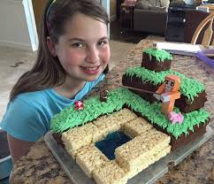 metdaan how to make minecraft birthday cake by cakepedia