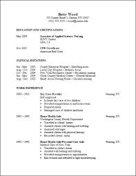 Sample Resume For Health Care Aide by Career Services Sample Resumes