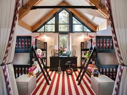 Americana Home Decor Catalogs Kids Americana Inspired Bedroom With Bunk Beds And Twin Tvs Hgtv