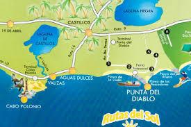 Cabo Map Cabo Polonio Anreise Mit Hindernissen