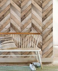 chevron wood herringbone wallpaper peel and stick chevron wall