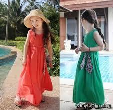kids maxi dress 2017 2018 b2b fashion