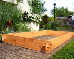 Cedar Raised Garden Bed 2 Cedar Raised Garden Beds 3x6 U0026 6x6 Raised Planters