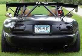 lexus v8 mx5 ls1 swapped miata in semi gloss black v8 miata pinterest