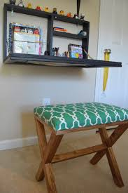 Diy Wall Desk Designed To Dwell Diy Pull Wall Desk