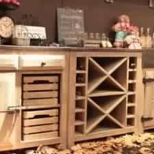 meuble cuisine massif mobilier de cuisine en bois massif top delicious modele cuisine