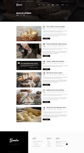 Bakery Price List Template Gamba Bakery Cakery Pizza Pastry Shop Psd Template By Gambathemes