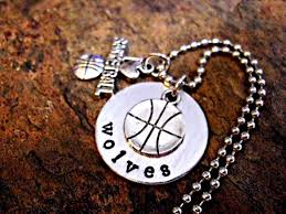 personalized basketball necklace basketball necklace basketball jewelry personalized jewelry