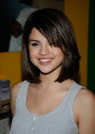 young looking haircut selena gomez latest straight bob hairstyle for girls straight