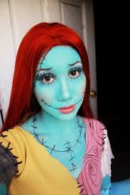 Halloween Costumes Nightmare Christmas Sally Nightmare Christmas Makeup Skin Beauty Fashion