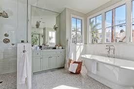 light green bathroom pale green bath vanity with gray mosaic marble floor