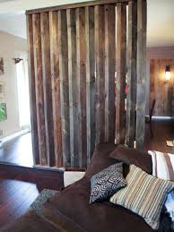 diy divider made of old wooden idea unique room divider ideas